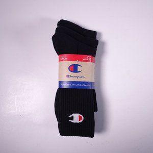 3 Pack Champion C 3-Pack Crew Socks A2230-003